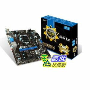 [103 美國直購 ShopUSA] MSI 主機板 LGA1150 Micro-ATX Motherboard H81M-E35 $2685