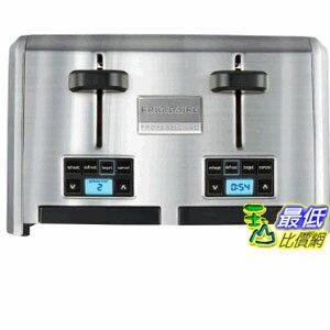 [103美國直購] 烤麵包機 Frigidaire Professional Stainless 4-Slice Wide Slots Toaster