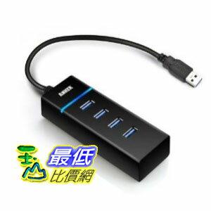 [103 美國直購] Anker AH400 USB 3.0 4-Port Compact Hub 四孔 集線器 充電器