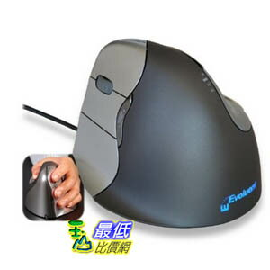 [103 美國直購 USAShop] 左手滑鼠 Evoluent VerticalMouse 4 Left Hand (model # VM4L) - USB Wired