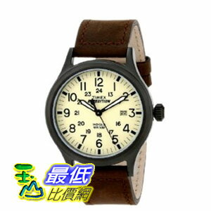 [103 美國直購] 男士手錶 Fossil Men's FS4885 Grant Analog Quartz Watch with Brown Leather Band  $4452