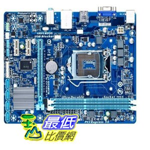 [103 美國直購 ShopUSA] Gigabyte 主機板 LGA1155 Intel H61 Express Micro ATX DDR3 1600 Motherboards GA-H61M-S..