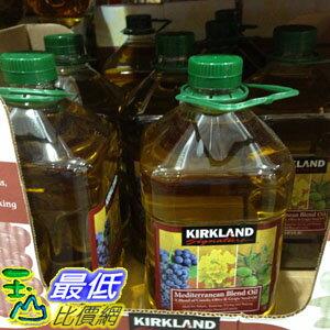 [COSCO代購] KIRKLAND 地中海式調和油3公升 MEDITERRANEAN BELEND OIL _C581318 $499