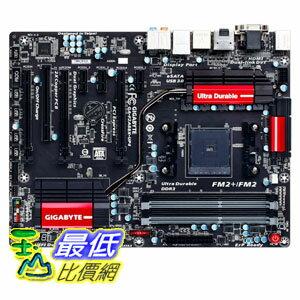 [103 美國直購] Gigabyte 主機板 AMD FM2+/FM2 A88X DDR3 2133 DisplayPort HDMI Dual-link DVI ATX GA-F2A88X-UP4