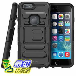 [美國直購] i-Blason 黑色 保護殼 B00M05VAQG Dual Layer Kickstand iPhone 6 / 6s Case 4.7-inch Prime Series