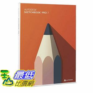[103美國直購] 速寫本 Autodesk SketchBook Pro 7 PC/Mac Disc
