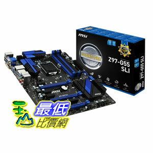 [103 美國直購] MSI 主機板 ATX DDR3 2600 LGA 1150 Motherboards Z97-G55 SLI $5959