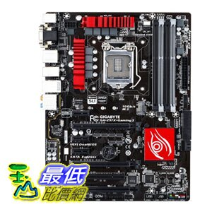 [103 美國直購] Gigabyte 主機板 GA-Z97X-GAMING 3 LGA 1150 Z97 Gaming Audio and Networking ATX $6487