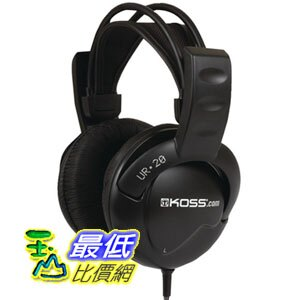 [103美國直購] Koss 頭戴式耳機 UR-20 Home Headphones $829