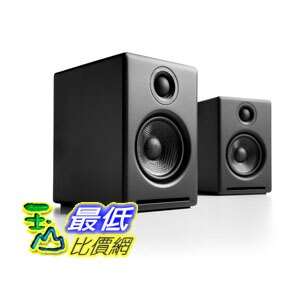 [104美國直購] Audioengine Black 揚聲器 B00DQMJE7E A2+ Premium Powered Desktop Speakers Pair