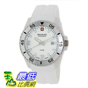 [美國直購 ShopUSA] Swiss Military Hanowa Men's Ranger 06-4200-21-001-01 White Silicone Swiss Quartz 手錶 $4315