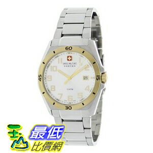 [美國直購 ShopUSA] 手錶 Swiss Military Hanowa Men's Guardian 06-5190-55-001 Silver Stainless-Steel Swiss Quartz Watch with White Dial $6331