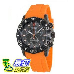 [美國直購 ShopUSA] 手錶 Swiss Military Hanowa Men's Oceanic Chrono 06-4196-30-009-79 Orange Rubber Swiss Quartz Watch with Grey Dial $10237