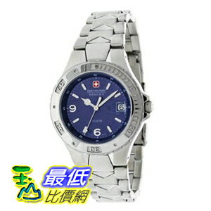 [美國直購 ShopUSA] 手錶 Swiss Military Hanowa Men's Peace Maker 06-5022-04-003 Silver Stainless-Steel Quartz Watch with Blue Dial $6079