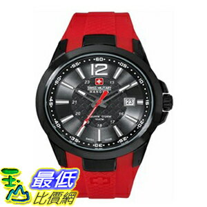 [美國直購 ShopUSA] 手錶 Swiss Military Hanowa Men's Predator 06-4165-13-007-04 Red Nylon Quartz Watch with Black Dial $7297