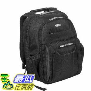 [104美國直購]  電腦背包 Targus Checkpoint-Friendly Air Traveler Backpack for 16-Inch Laptop, Black (TBB012US)$2545