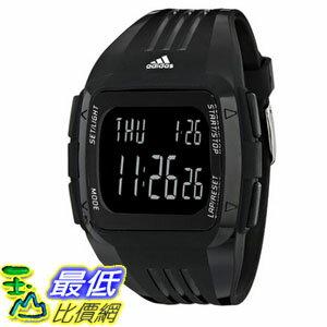 [104美國直購] adidas Unisex ADP6090 Digital Black Striped Watch 多功能方形電子錶 $2280