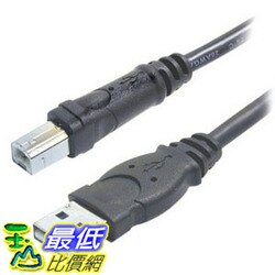 [104美國直購] Belkin 貝爾金 F3U133-06 Pro Series A-Male to B-Male USB 2.0 Cable (6ft)轉接線 _a222