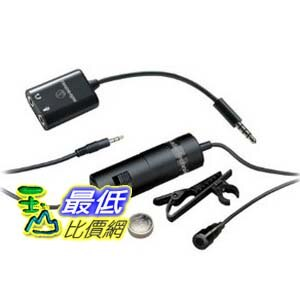 [103 美國直購] 手機專用 Audio Technica ATR3350IS Omni Lavalier Microphone for Smartphones $1282