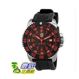 [美國直購 ShopUSA] Luminox Navy Seal 手錶 Colormark Black and Red Dial Mens Watch SU3165 $9576