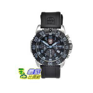 [美國直購 ShopUSA] Luminox Navy SEAL 手錶 Colormark Chronograph Black Dial Black Rubber Mens Watch 3183 $12613