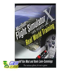 [美國直購] Microsoft Flight Simulator 飛行員訓練 書744 頁 X For Pilots Real World Training [Paperback] $1498