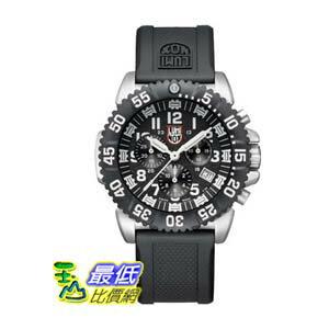 [美國直購 ShopUSA] Luminox Navy SEAL Colormark Chronograph 手錶 Black Dial stainless Steel Mens Watch 3181 $14898