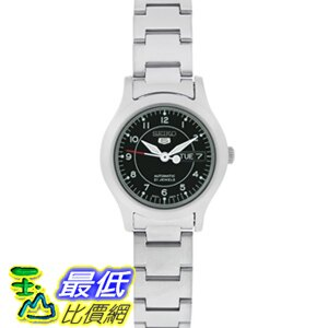 [美國直購 USAShop] Seiko 手錶 Women's 5 Automatic SYME03K Silver Stainless-Steel Automatic Watch with Black Dial $3520