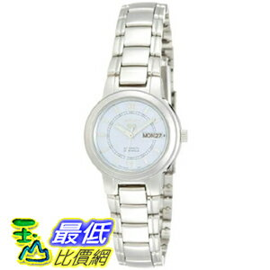 [美國直購 USAShop] Seiko 手錶 Women's 5 Automatic SYME55K Silver Stainless-Steel Quartz Watch with White Dial $3820