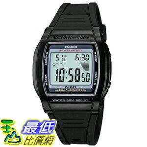 [美國直購 USAShop] Casio 手錶 Men's Illuminator Watch W201-1AV _mr