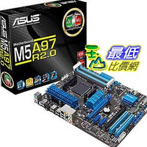 [美國直購 ShopUSA] ASUS 主機板 M5A97 R2.0 AM3+ AMD 970 SATA 6Gb/s USB 3.0 ATX AMD Motherboard $4798