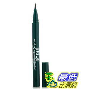 [美國直購] stila Stay Moss B00A1RM4HE 深綠色 All Day Waterproof Liquid Eye Liner, 防水眼線筆 T01