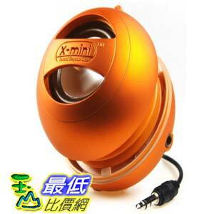 [美國直購 ShopUSA] X-Mini II 音響 XAM4-OR Portable Capsule Speaker, Mono, Orange