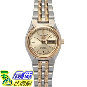 [美國直購 USAShop] Seiko 手錶 Women's 5 Automatic SYM798K Silver Two-tone Stainless-Steel Automatic Watch with Gold Dial $4620