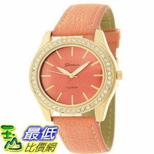 [美國直購 USAShop] Geneva Platinum 女士手錶 9688.Gold.NeonPink mr $999
