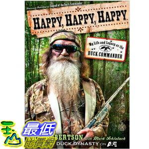 (2013 美國暢銷書榜單)Happy, Happy, Happy: My Life and Legacy Hardcover by Phil Robertson1476726094 $738