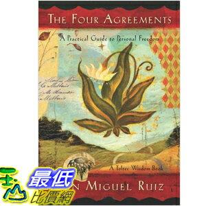 (2013 美國暢銷書榜單)The Four Agreements: [Paperback] Don Miguel Ruiz 1878424319 $779