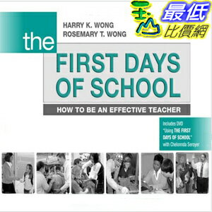 (2013 美國暢銷書榜單)The First Days of School: How to Be an Effective Teacher [Paperback] Harry K. Wong 0976423316 $1297