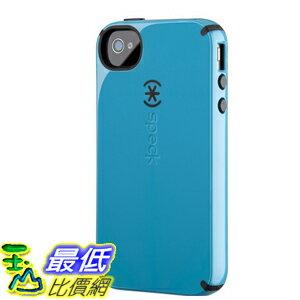 [美國直購 ShopUSA] 手機殼 Speck Products CandyShell Glossy Case for iPhone 4/4S - 1 Peacock Blue/Black B005..