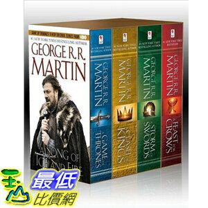 [美國直購 ShopUSA] (2013 美國暢銷書榜單)Song of Ice and Fire, (4 Vols.):Paperback – Print 0345529057 $1295