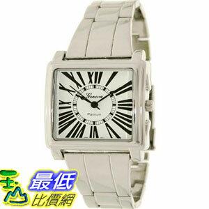 [美國直購 USAShop] Geneva Platinum 手錶 Men's Watch 6397.Silver.White _mr $999