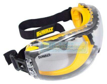 [  美國直購] DEWALT DPG82-11C Concealer Clear Anti-Fog Dual Mold Safety Goggle B000RKQ1NI 護目鏡 安全眼鏡