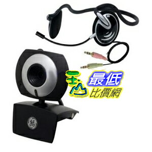 [美國直購 ShopUSA] GE 立體聲耳機 1.3 MP MiniCam Pro with PC Stereo Headset - 98003 $743