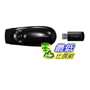 [美國直購 ShopUSA] Kensington 綠色激光筆 K72426AM  Presenter Expert with Cursor Control, Backlit Joystick and Green Laser Pointer B009K1PYG0 $2425