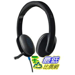 [美國直購 ShopUSA] Logitech 耳麥 USB Headset H540 for PC Calls and Music - Black B0091F8F7A  TC1