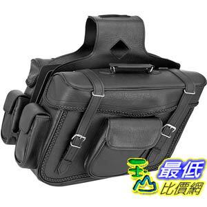 [103美國直購]  Braided X-Large Slant Saddlebags $9489