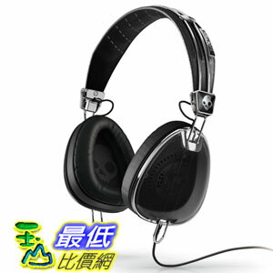 [104 美國直購] Skullcandy Aviator Headphones with Mic3 (Black) S6AVFM-156