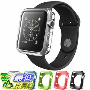 [104美國直購] Apple Watch Case (38 mm), i-Blason TPU Cases [5 Color Combination Pack]智慧型 手錶 保護殼