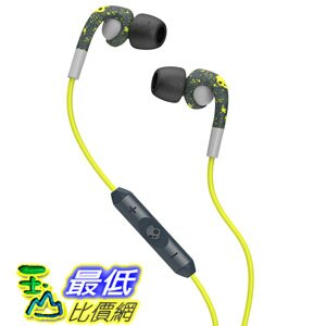 [104 美國直購] Skullcandy Fix Earbuds with Mic3 - Dark Gray/Light Gray/Hot Lime SCS2FXGM-386