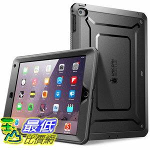 [104美國直購] SUPCASE [Unicorn Beetle PRO Series] iPad Air 2 Case 保護殼 保護套 黑白藍粉 四色可選